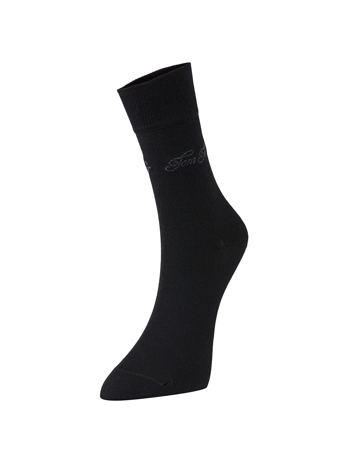 TOM TAILOR Socken im Doppelpack, Damen, black, Größe: 35 38