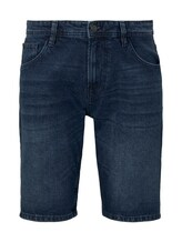 TOM TAILOR DENIM Herren Bermuda Jeansshorts, blau, Gr.L