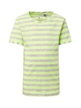 TOM TAILOR Jungen Gestreiftes T-Shirt, weiß, gestreift, Gr.116/122
