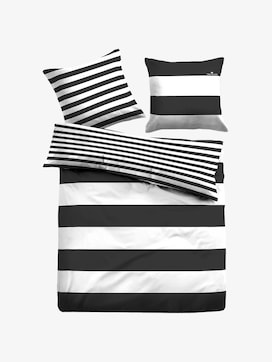 striped, reversible bed linen - 1 - TOM TAILOR