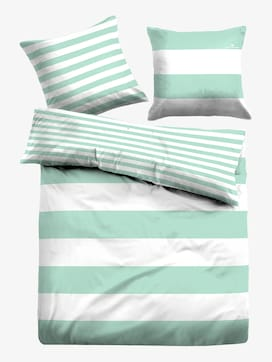 striped, reversible bed linen - 1 - TOM TAILOR