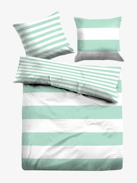 striped, reversible bed linen - 7 - TOM TAILOR
