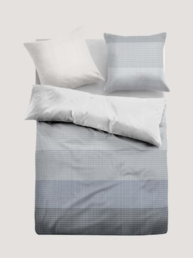 satin bed linen checked - 7 - TOM TAILOR