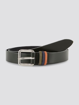 Leather belt with colour accents - 7 - TOM TAILOR Denim