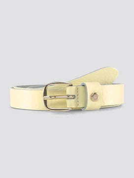 Leather belt in a Nappa look - 7 - TOM TAILOR Denim