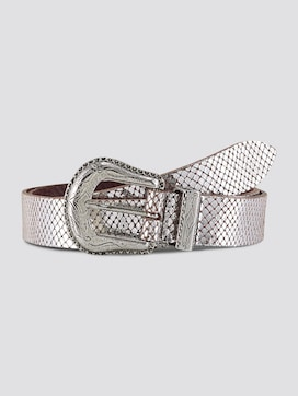 metallic look riem - 7 - TOM TAILOR Denim