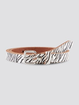 Slim waist belt with an animal print - 7 - TOM TAILOR Denim