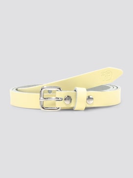 Pastel-coloured leather waist belt - 7 - TOM TAILOR Denim