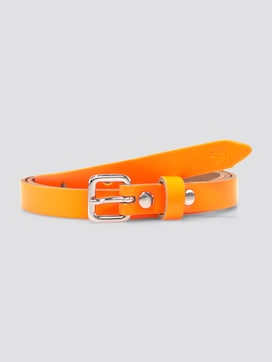 Neon waist belt made of leather - 7 - TOM TAILOR Denim