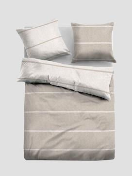Striped flannel bedding - 7 - TOM TAILOR