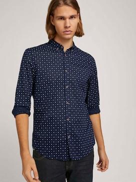 Luchtig overhemd met patroon - 5 - TOM TAILOR Denim