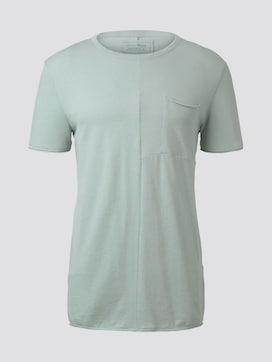 T-Shirt mit Ziernähten - 7 - TOM TAILOR Denim