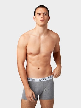 Boxer shorts in 3-piece pack  - 1 - TOM TAILOR Denim