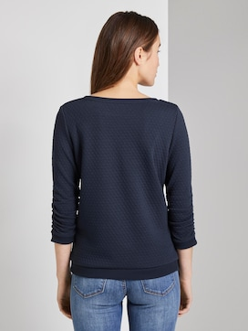 Pullover mit Strukturmuster  - 2 - TOM TAILOR Denim