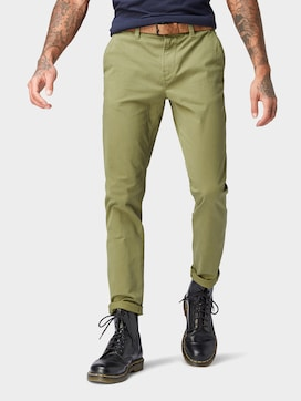 Chino Hose mit Gürtel - 1 - TOM TAILOR Denim