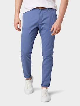 Chino broek met riem - 1 - TOM TAILOR Denim