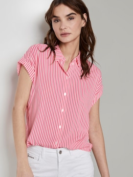 Striped blouse - 5 - TOM TAILOR