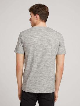 Gestructureerd T-shirt - 2 - TOM TAILOR Denim