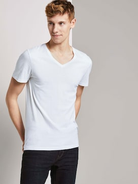 T-shirt in a double pack - 5 - TOM TAILOR Denim