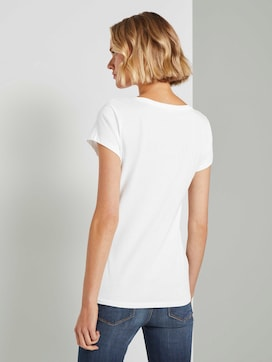 T-shirt in a double pack - 2 - TOM TAILOR Denim