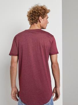 T-Shirt mit Logo-Stickerei - 2 - TOM TAILOR Denim
