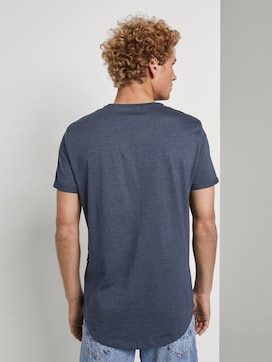 T-shirt with logo embroidery - 2 - TOM TAILOR Denim