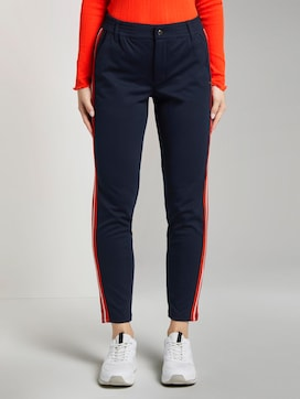 Joggingbroek met galonstrepen - 1 - TOM TAILOR Denim