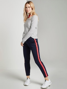 Joggingbroek met galonstrepen - 3 - TOM TAILOR Denim
