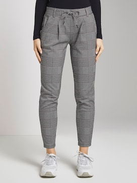 Checked trousers - 1 - TOM TAILOR Denim