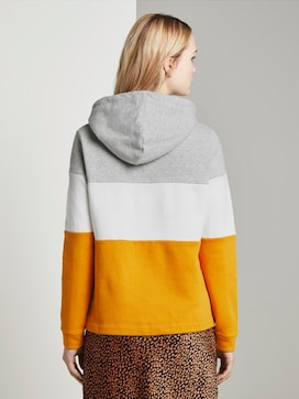 Hoody with colour blocking - 2 - TOM TAILOR Denim