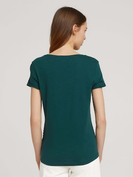 Gestreepte T-Shirt - 2 - TOM TAILOR Denim