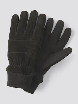 Handschuhe mit Rippblenden - 7 - TOM TAILOR