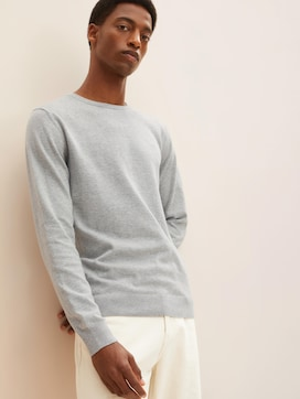 Simple knitted jumper - 5 - TOM TAILOR