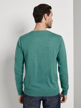 Schlichter Strickpullover - 2 - TOM TAILOR
