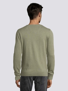 Simple knitted jumper - 2 - TOM TAILOR
