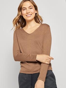 Pullover mit V-Ausschnitt - 5 - TOM TAILOR