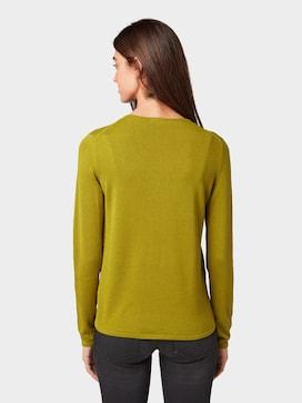 Pullover mit V-Ausschnitt - 2 - TOM TAILOR