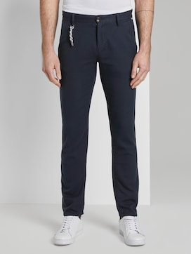 Travis Slim Chino Hose strukturiert - 1 - TOM TAILOR