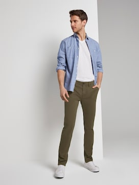Travis Slim Chino - 3 - TOM TAILOR