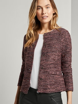Blazer in bouclé look - 5 - TOM TAILOR