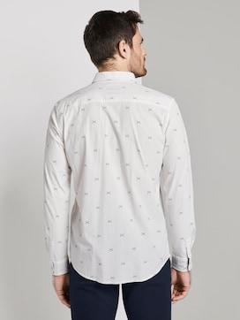 Hemd mit Allover-Print - 2 - TOM TAILOR