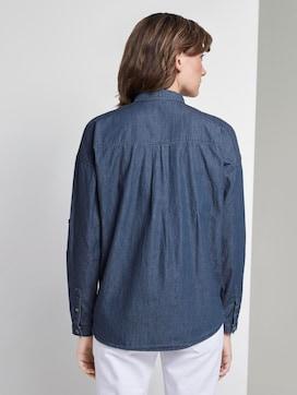 Jeansbluse mit Brusttaschen - 2 - TOM TAILOR