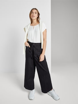Kate Straight culottes in ankle length - 3 - TOM TAILOR
