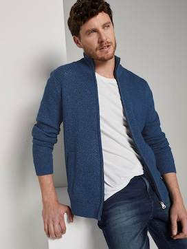 Strukturierter Cardigan - 5 - TOM TAILOR