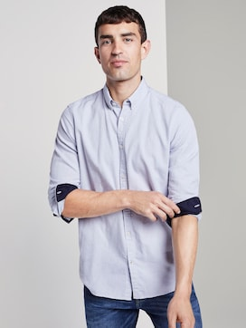 Overhemd met patroon - 5 - TOM TAILOR