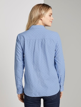 Overhemdblouse met patroon - 2 - TOM TAILOR