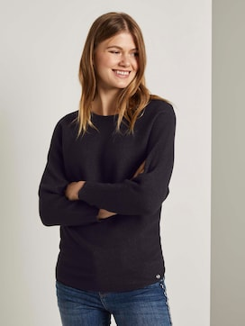 strukturierter Pullover - 5 - TOM TAILOR Denim