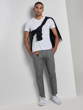 Chino trousers with carabiner - 3 - TOM TAILOR Denim