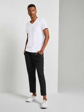 Cropped jogging bottoms - 3 - TOM TAILOR Denim