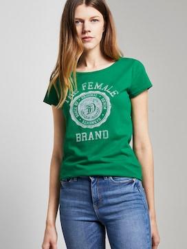 T-Shirt mit Print - 5 - TOM TAILOR Denim